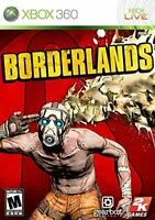 BORDERLANDS xbox 360  ***CASE/ART/MANUAL ONLY*** NO GAME