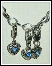 Rhinestone Alloy European Jewellery Charms