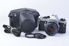 EXC+++ PENTAX ME SUPER 35mm BODY w/50mm F1.7 LENS, CASE, TESTED, VERY CLEAN!