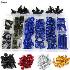 For Honda CBR600F3 97 98 Complete Bolt Motorcycle Fairings Clips Kits 1 Set Blue