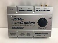 Roland EDIROL UA-20 USB Audio Interfacee MIDI Interface from Japan