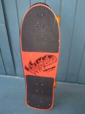 Vintage 1980s Variflex Skateboard Wired Old School Deck Concave Rad Cut