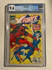 MARVEL X-FORCE #11 CGC 9.6 1ST APPEARANCE OF DOMINO EARLY DEADPOOL