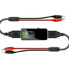 13-In-1 USB Tester DC Digital Voltmeter Amperemeter Power Bank Charger Anzeige