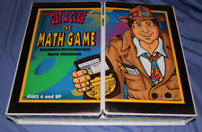Get a Clue The Math Game, ages 6 and up
