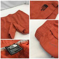 The North Face Flash Dry Shorts L Orange Nylon Lined Pockets Mint YGI G9-583