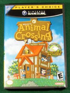 Animal Crossing (Nintendo GameCube, 2002) Complete Box CIB, 100% Authentic