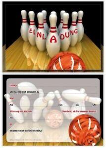 Drucken einladungskarten bowling kostenlos Einladung zum