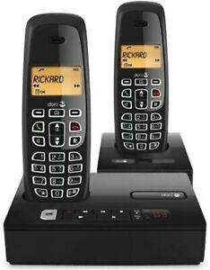 DORO NeoBio Answering Machine + 2 Handsets Home Speaker Phone Cordless NEW