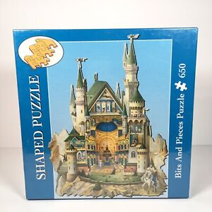 Bits And Pieces Shaped Puzzle Gavrilov The Grandeur of Neuschwanstein Castle NEW