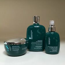Alfaparf Semi Di Lino Reconstruction Reparative Shampoo, Mask & Fluid SET!!!