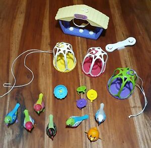 10 x Digibirds With Accessories, Preloved Condition