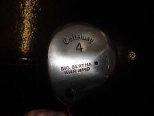 USATO Callaway Big Bertha GUERRA Bird 4. legno dell'albero regolari, condizione decente-L/A MANO
