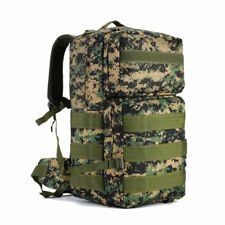 55L Tactical Backpack Military Army Rucksack Trekking Rucksack MOLLE Outdoor Bag