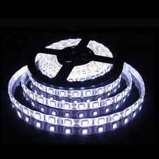 16 Ft 5M RGB White Blue 300 5050 LED Flexible Light Strip Lamp Waterproof DC 12V