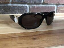 Versace Womens DESIGNER Sunglasses Black Oval Mod 4092 GB1/8758▪16 130 ITALY