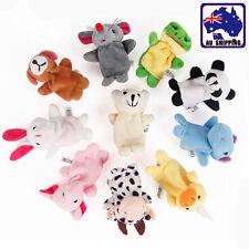 10pcs Finger Puppets Toys  Velvet Small Animals In Garden Baby Doll GBFIN1081