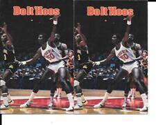 University of Virginia UVA Vintage 1982-83  Pocket Schedule Basketball College