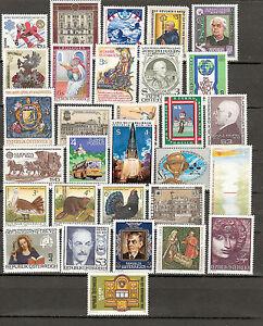 Österreich 1982 Kompletter Jahrgang Postfrisch ** MNH