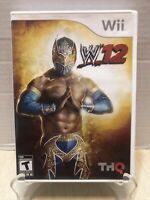 Rare Sin Cara WWE '12 Nintendo Wii 2011 Very Hard To Find Mexican Cover TESTED