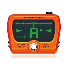 GoGo Horizon Chromatic Pedal Tuner Limited Edition Orange True Bypass