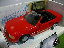 MERCEDES 500 SL CABRIOLET rouge échelle 1/18 REVELL 8671 voiture miniature