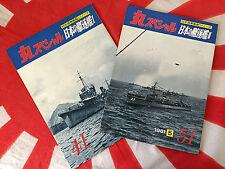 Ijn Destroyers Japanese Navy Dd Maru Special Vintage 2 Book Set Vols 41 51