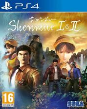 Shenmue I & II PS4 1 2 * NEW SEALED PAL *