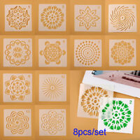 Craft Stamp Layering Stencils Painting template Mandala Auxiliary Scrapbooking