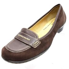 76ea7fb8c35a Softspots Womens Size 9.5 M Brown faux Leather Slip On Casual Shoes