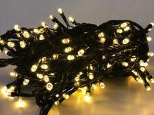 LED  Lichterkette mit 8 Lichteffekten  innen au�Ÿen Warmwei�Ÿ 100LED