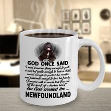 Newfoundland Dog,Newfoundlands,Newfoun dland dogs,Newfie,Newfy,Cup,Cof fee Mug