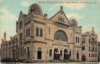 Postcard Baptist Temple Philadelphia PA