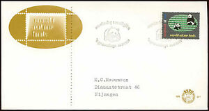 Netherlands 1984 World Wildlife Fund WWF FDC First Day Cover #C27856