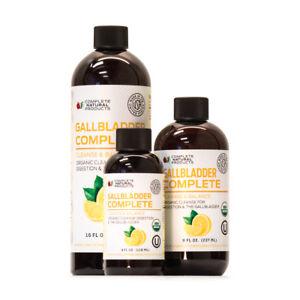 Gallbladder Complete - Organic Liquid Gallstones Cleanse Formula