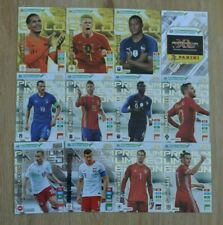 Panini Road to Euro EM 2020 Adrenalyn XL Set 7 12x Limited Edition Premium Gold