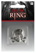 Skull Ring Halloween Gothic Vampire Fancy Dress Costume Jewellery