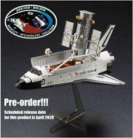 Hasegawa 1/200 Hubble Space Telescope&Space Shuttle Orbiter,Astronaut Model kit