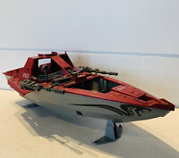 1985 Hasbro GI Joe Cobra Hydrofoil Moray Boat Incomplete Vintage Ship Toy