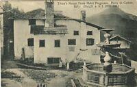 Z20851-PIEVE POR CADORE, DE TIZIANO HOUSE FROM HOTEL PROGRESSO, ITALIA, BELLUNO