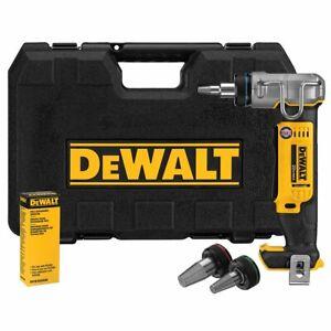 DeWALT DCE400B 1-Inch Pex Cordless Rotating Head Expansion Tool - Bare Tool