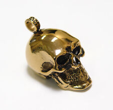 Skull Pendant 316 Stainless Steel for paracord necklaces biker jewelry