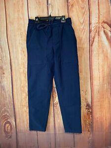 "Lululemon 30"" Bowline Pant *Utilitech TRUE Navy Blue Size S"