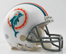MIAMI DOLPHINS 1972 NFL Riddell VSR-4 ProLine THROWBACK Mini Football Helmet