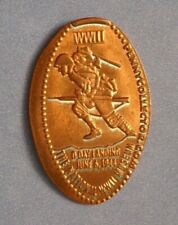 National Wwii Museum elongated penny La Usa cent D-Day 1944 souvenir coin