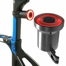 Bike Rear Tail Light LED USB Rechargeable Bicycle Warning Safety Smart Lamp
