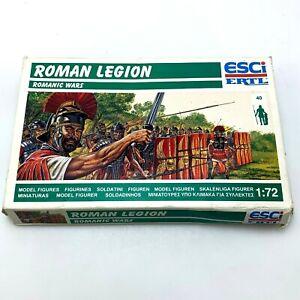 ESCI - ERTL Roman Legion 1/72 40 Model Figures | #224 | New in Open Box