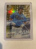 2020 Topps Chrome BRENDAN McKAY RC Freshman Flash Gold 37/50