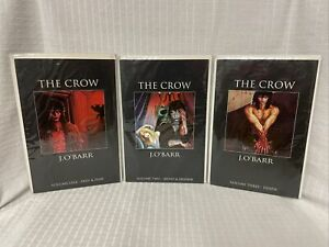 HOT Complete 1-3 THE CROW J O'Barr Comics one two three pain fear irony death 2
