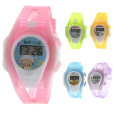 2017 Boy Girl Student Digital Watch Time LCD Sport Wrist Watch for Children Kids